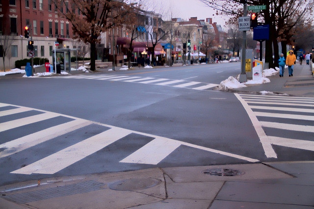Connecticut Avenue, by the National Zoo
