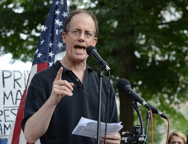 NSA whistleblower Thomas Drake.