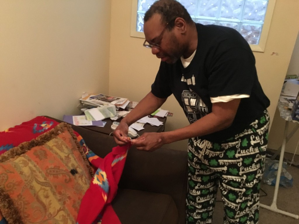 Steven Powe has lived alone for five years. Before that, he spent over 50 years living with his mother. He is featured in WAMU's report on D.C.'s struggle to incorporate residents with intellectual and developmental disabilities.