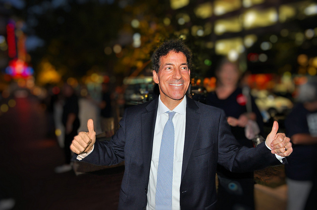 Congressman-elect Jamie Raskin of Maryland's District 8 during his campaign.