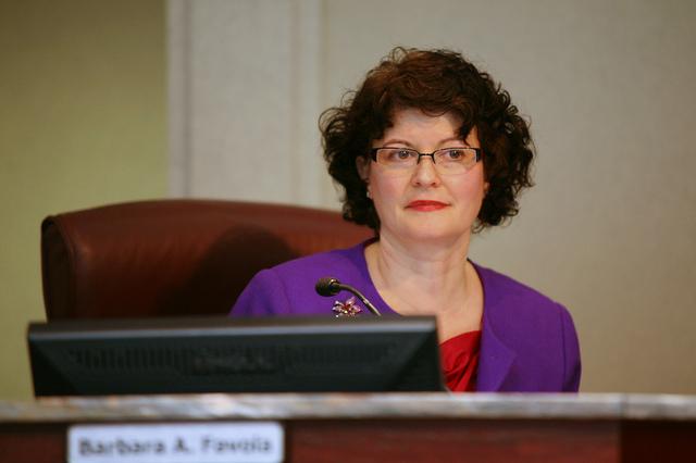 Virginia Senator Barbara Favola in 2011, when she sat on the Arlington County Board.