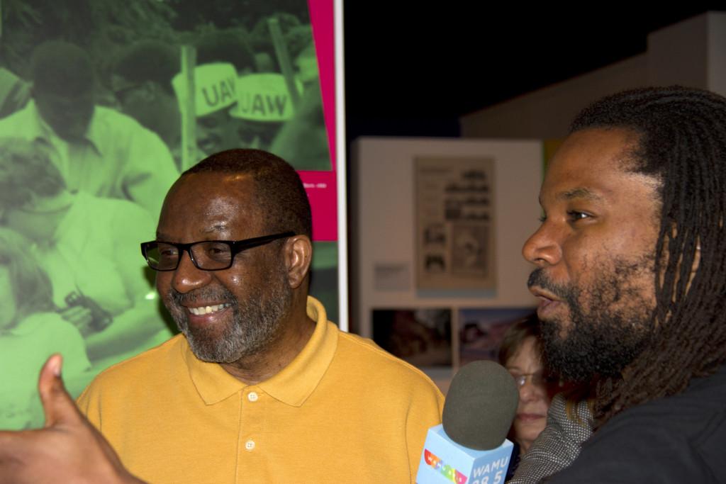 Kojo Nnamdi and John Johnson explore the Smithsonian's Anacostia Community Museum.