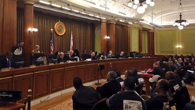 A D.C. Council  meeting from 2014.