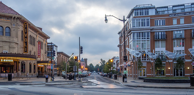 14th and Irving Street in Northwest D.C.