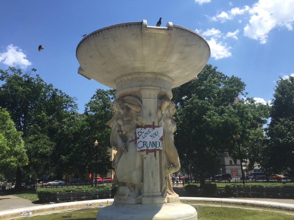 Dupont Circle in NW Washington on Sunday, June 12.