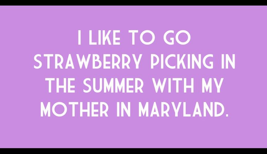 strawberrypicking