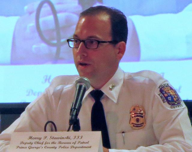 Prince George's County Police Chief Henry P. Stawinski III.