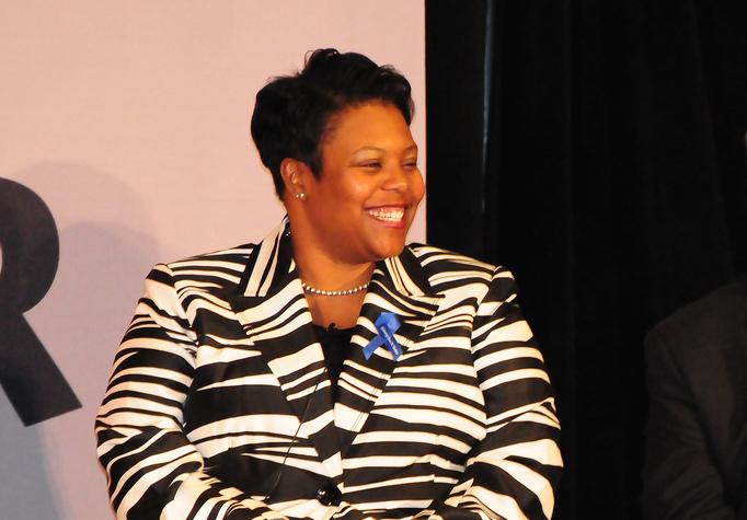 Kaya Henderson at City Year's SummitLeadership Conference in 2011.