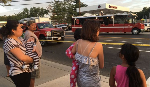 Families displaced by an explosion at a Silver Spring apartment building.