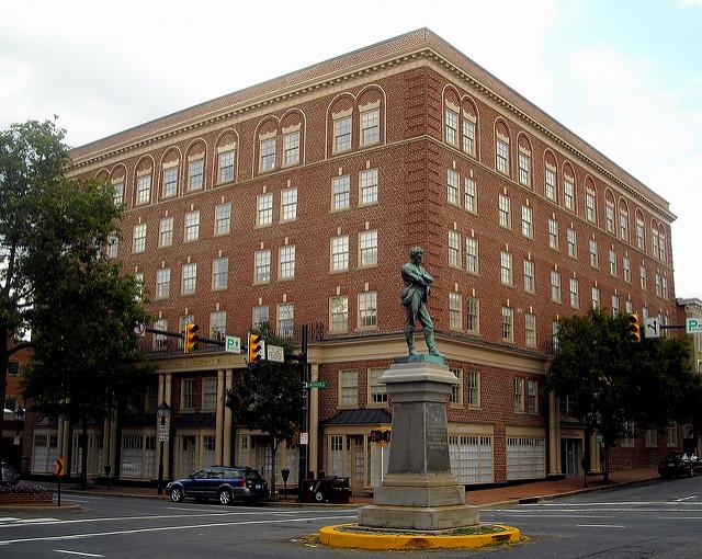 """The """"Appomattox"""" statue in Alexandria, Va."""