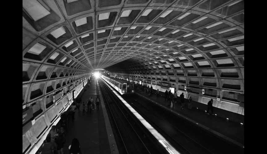 Gallery Place – Chinatown Metro Stop