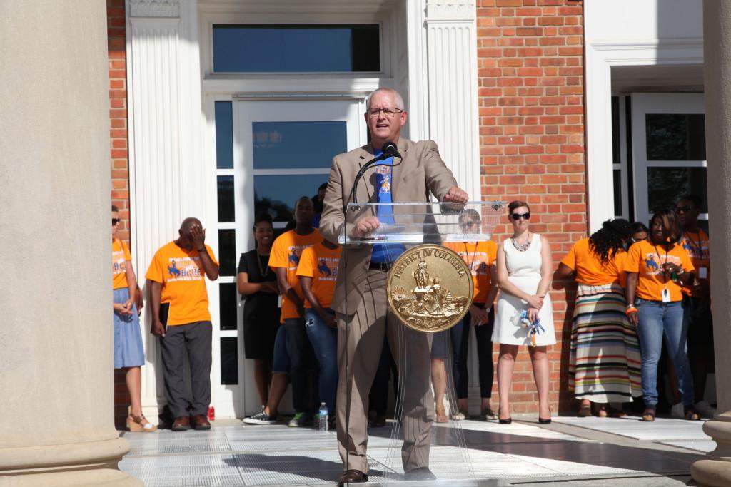 Interim D.C. Public Schools Chancellor John Davis.