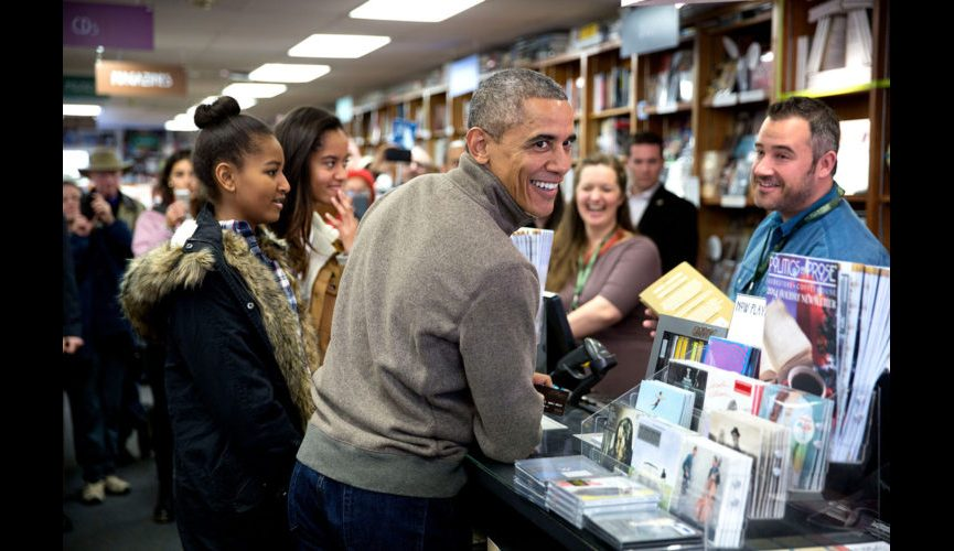 The first reader at Politics and Prose