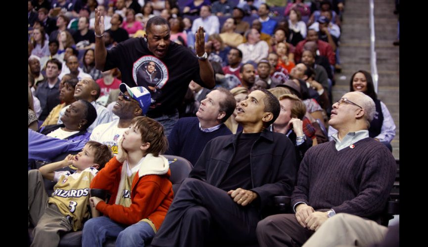 Obama Meets Wizards Fans