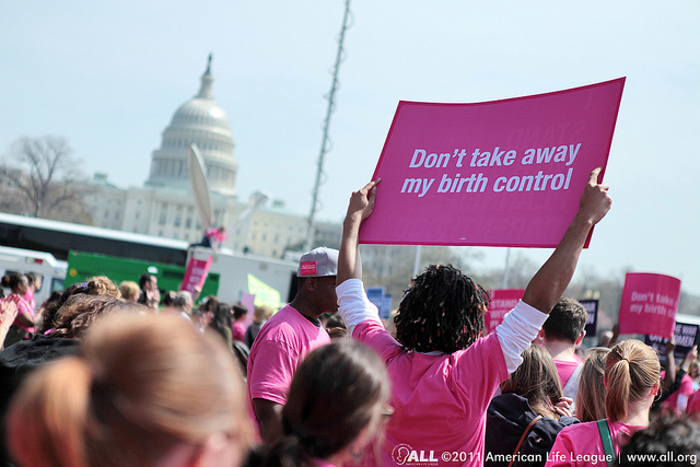 A rally for Planned Parenthood in 2011 in Washington, D.C.
