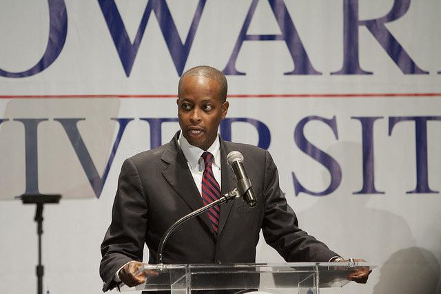 Howard University President Wayne Frederick