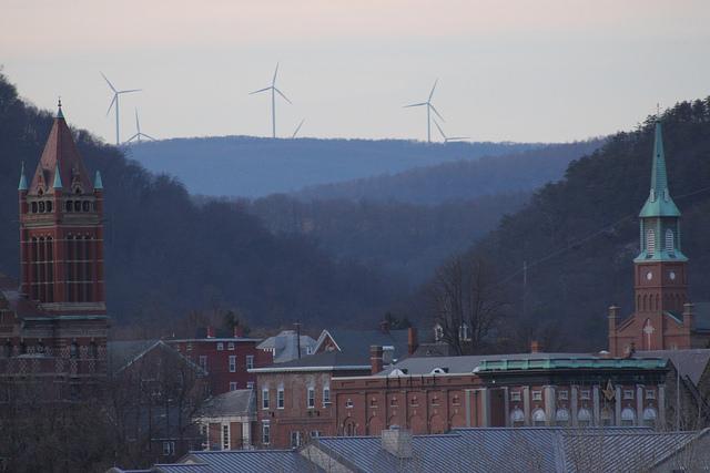Cumberland, Md.'s skyline.