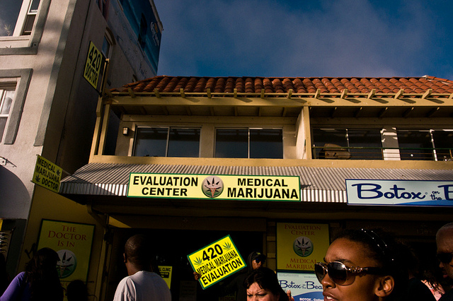 A medical marijuana dispensary in Venice Beach, Calif.