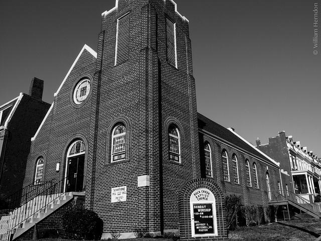 Rock Creek Baptist Church in Petworth.