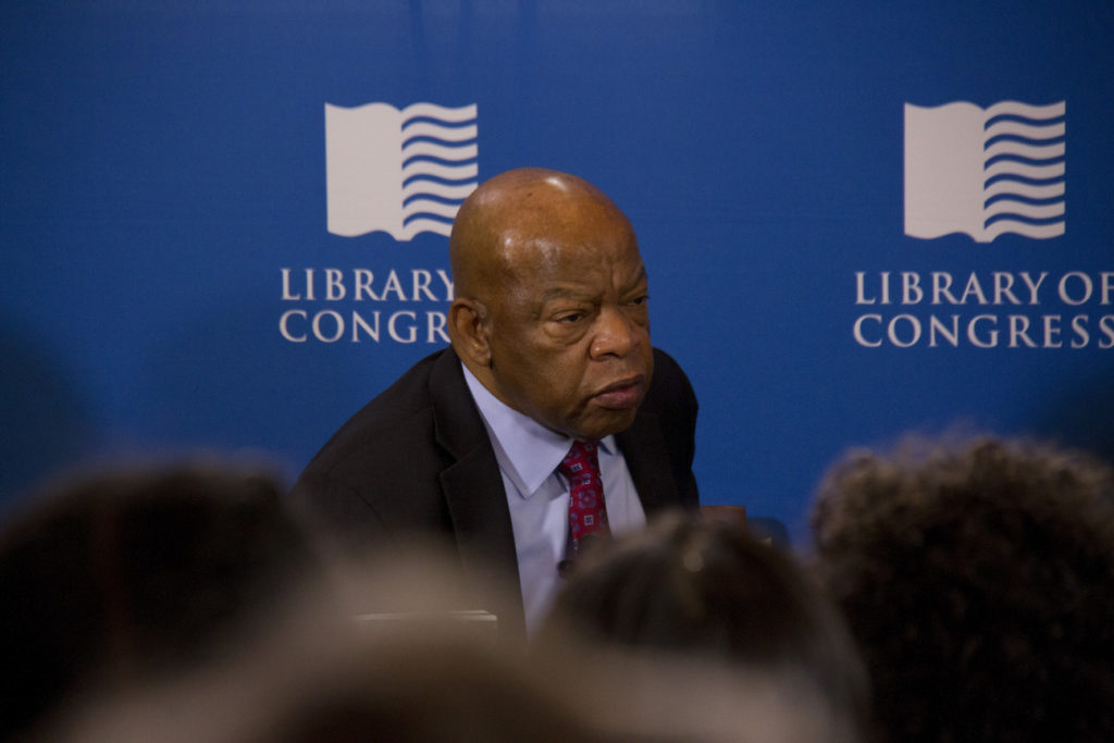 Rep. John Lewis (D-Ga.) at the Library of Congress