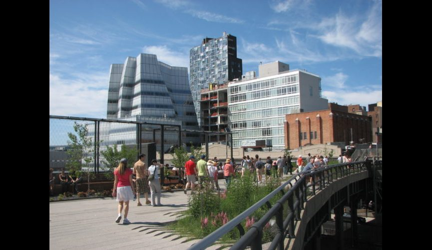 A_visit_to_the_High_Line_park