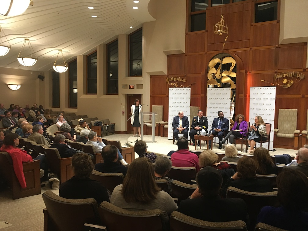 Jewish and community leaders addressed recent incidents of anti-Semitism at a forum in D.C.