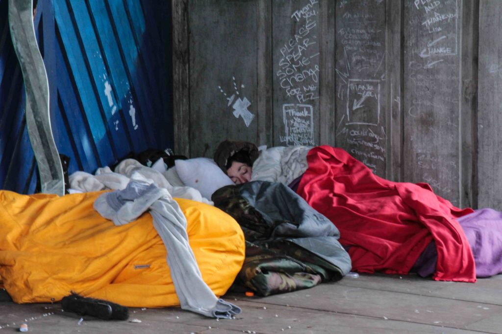 A 2016 survey ranked D.C. as having the highest rate of homelessness among 32 cities.