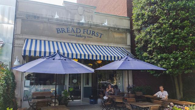 Mark Furstenberg's bakery, Bread Furst, in Van Ness.