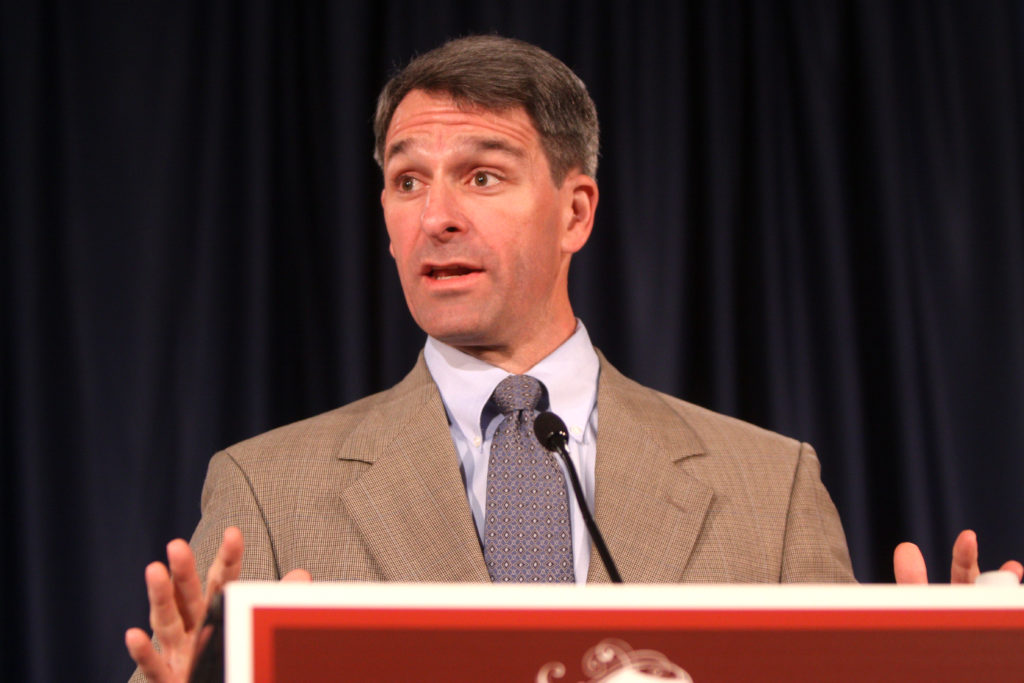 Former Attorney General of Virginia, Republican Ken Cuccinelli, at the 2012 Liberty Political Action Conference in Chantilly, Virginia.