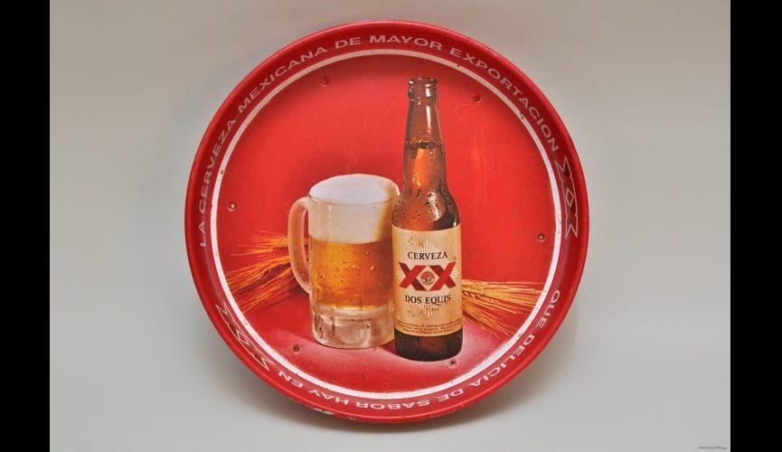 Cerveza Dos Equis tray 2001.0211.04