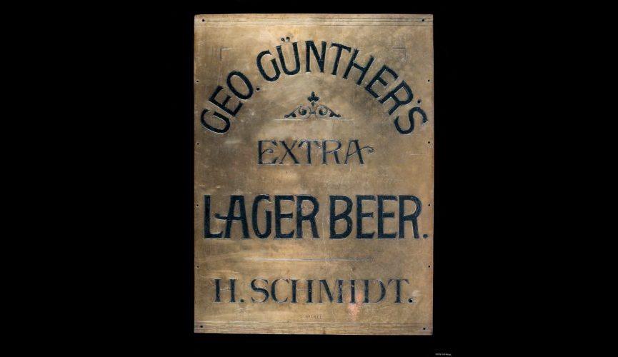 Geo Gunther sign