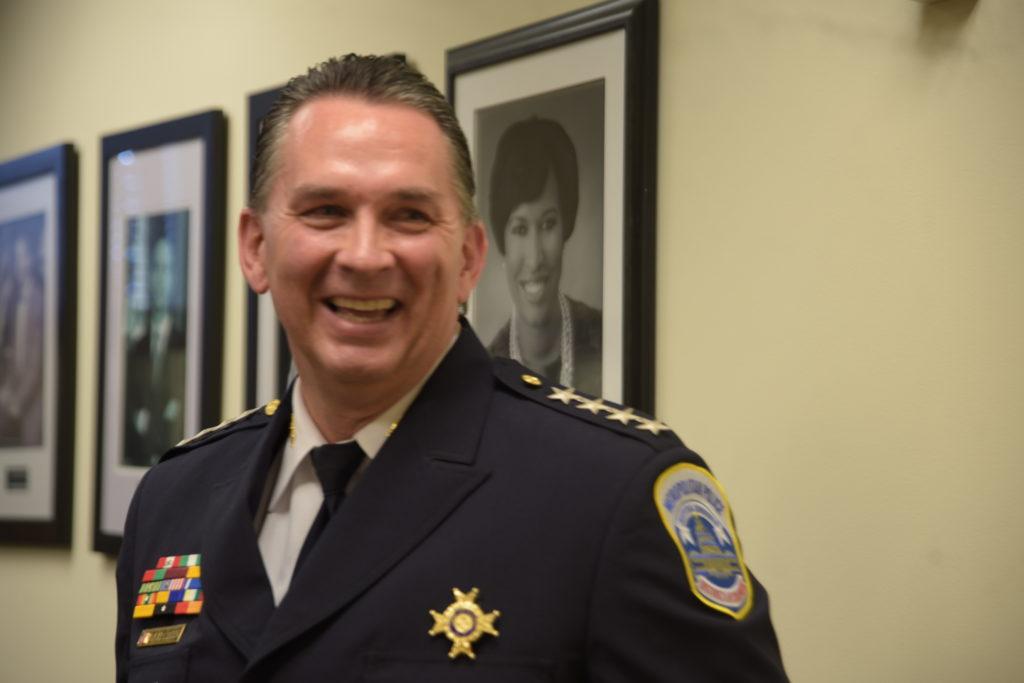 D.C. Police Chief Peter Newsham