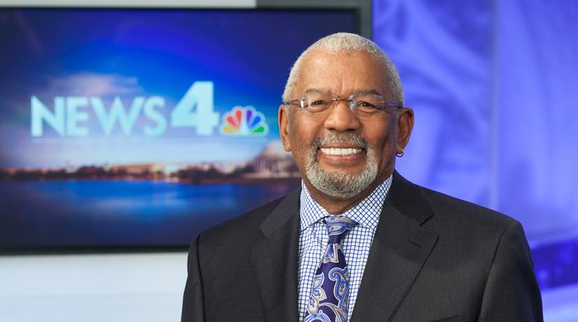 Longtime Washingtonian and TV anchor jim Vance