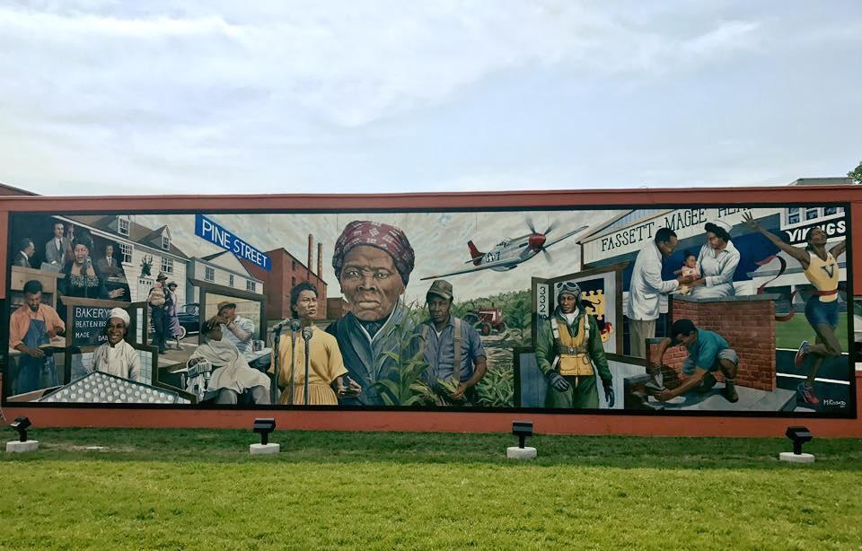 New mural in Cambridge