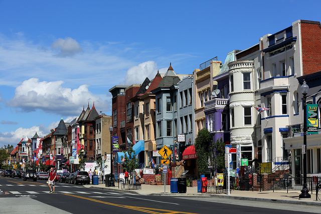 Could Adams Morgan's 18th Street always be this clear?
