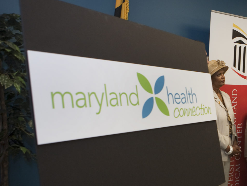 The debut of the Maryland Health Exchange in 2012.