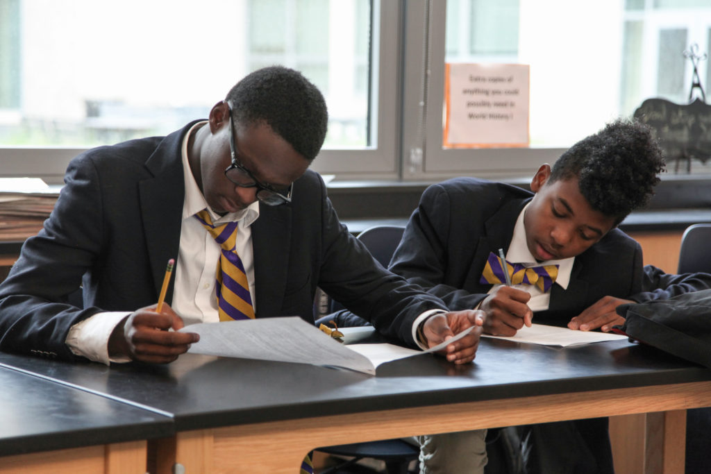 Ron Brown Preparatory High School emphasizes emotional learning through programs including in-house therapy teams and numerous field trips.