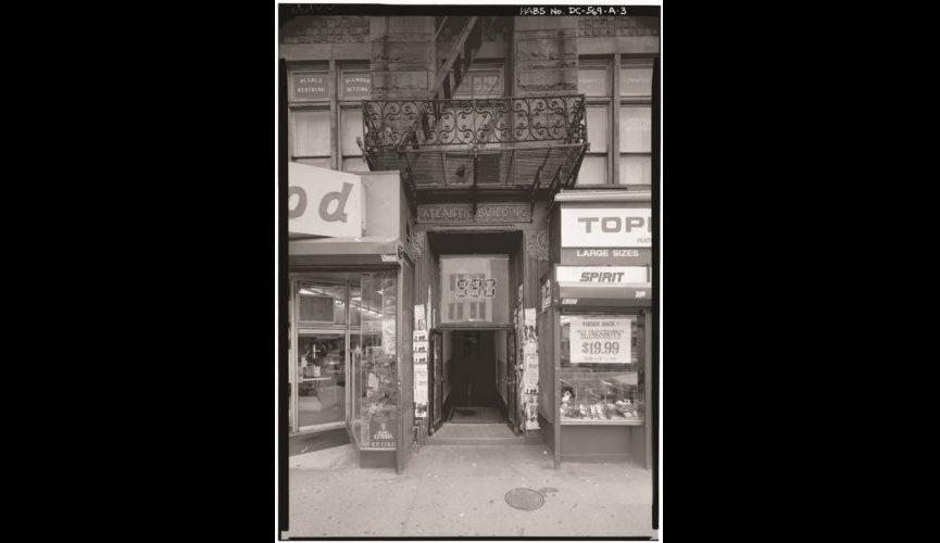 facade of old 930 club 2 _Drew Butler