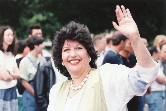 Carol Schwartz at the 1998 Pride Parade.