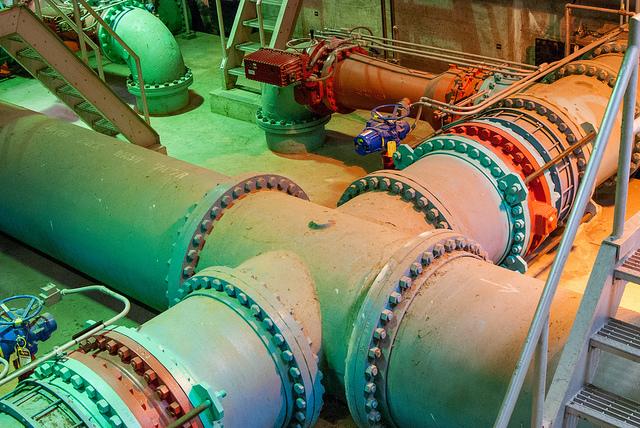 Blue Plains Wastewater Treatment Facility, Washington, DC