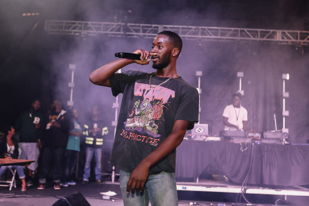 Grammy-nominated recording artist Goldlink came up in D.C.'s growing hip hop scene.