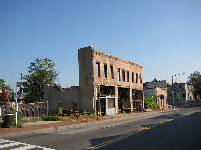 MLK Ave and Good Hope Road SE, 2008
