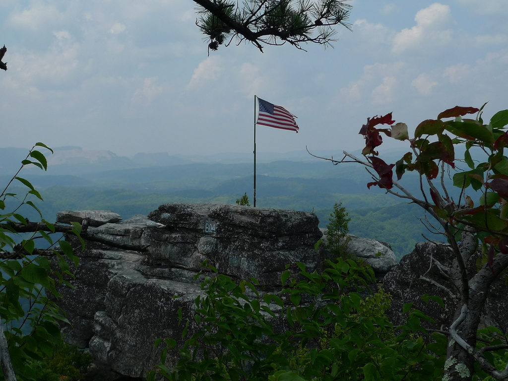 Flag Rock in Norton, Va.