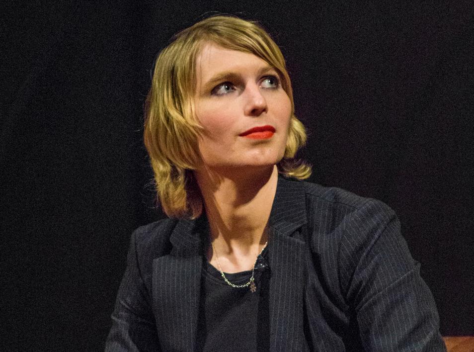 U.S. Senate candidate Chelsea Manning