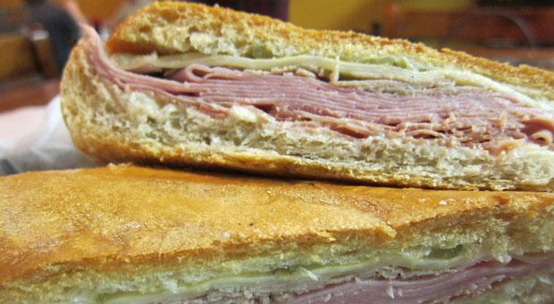 An authentic Cuban sandwich in Nashville, Tenn.