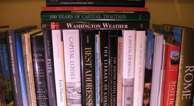 D.C. architecture and local history books.