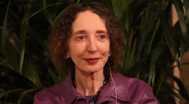 Joyce Carol Oates at the University of San Francisco on April 28, 2011.
