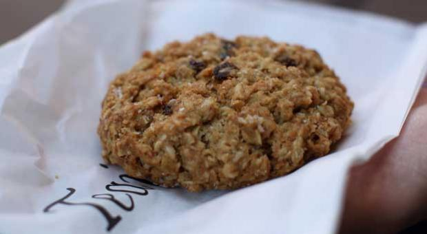 "Teaism is the only restaurant in the Washington region to sell Kayak Cookies' signature ""subtly sweet, curiously salty"" Salty Oat cookies."