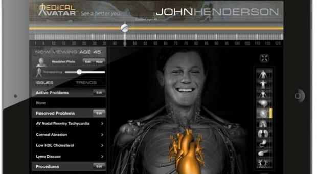 Medical Avatar iPad app