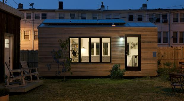 Minim House, designed by Foundry Architects and Brian Levy.